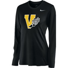 Inglemoor Track 15: Nike Women's Legend Long-Sleeve Training Top - Black