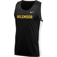 Inglemoor XC 01: Nike Dry Miler Men's Running Tank - Black
