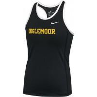 Inglemoor XC 02: Nike Dry Miler Girl's Running Racerback Tank - Black