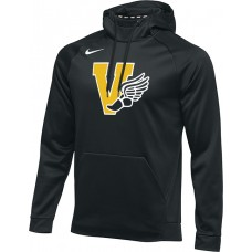 Inglemoor Track 20: Nike Therma Men's Training Hoodie - Black