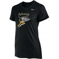Inglemoor XC 12: Nike Women's Legend Short-Sleeve Training Top - Black