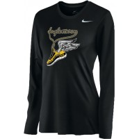 Inglemoor XC 15: Nike Women's Legend Long-Sleeve Training Top - Black