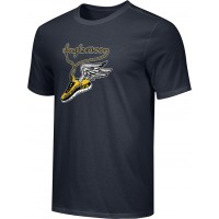 Inglemoor XC 16: Adult-Size - Nike Combed Cotton Core Crew T-Shirt - Black