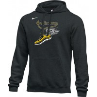 Inglemoor XC 18: Adult-Size - Nike Team Club Fleece Training Hoodie (Unisex) - Black