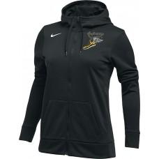 Inglemoor XC 20: Nike Women's Therma All-Time Hoodie Full Zip - Black
